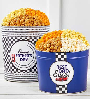 Best Dad Ever Popcorn Tins