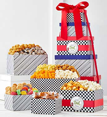 Best Dad Ever 5-Box Gift Tower
