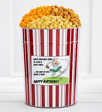 Tins With Pop® 4 Gallon Birthday Golf