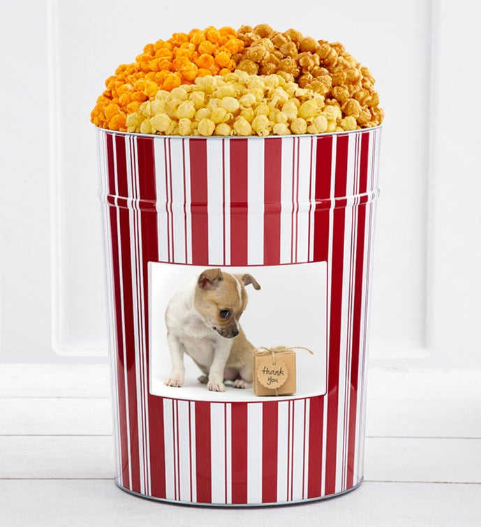 Tins With Pop® 4 Gallon Thank You Dog