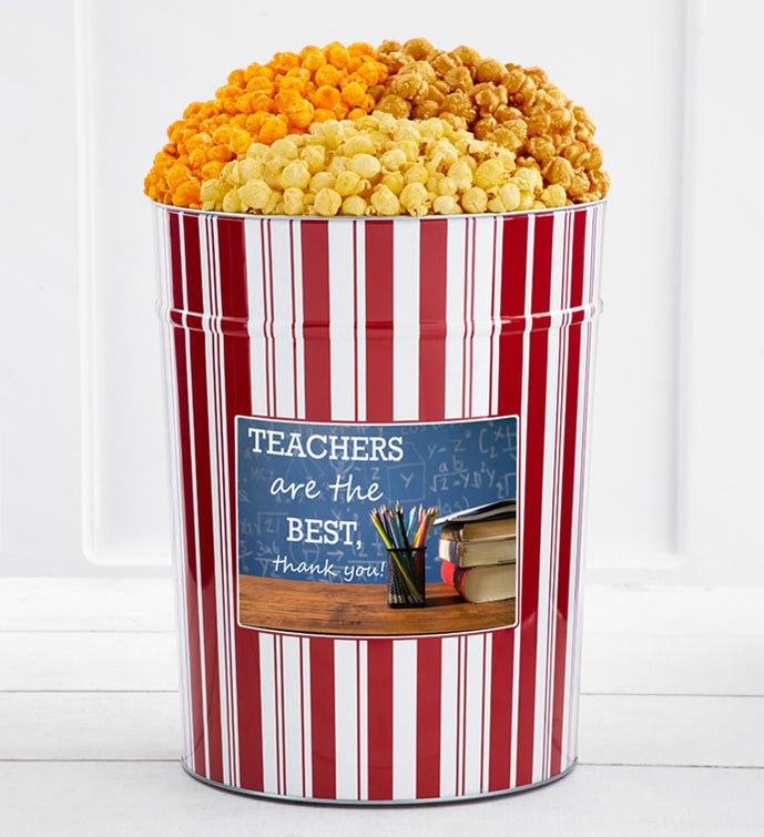 Tins With Pop® 4 Gallon Teachers Are The Best Thank You