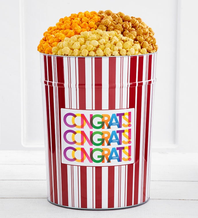 Tins With Pop® Bright Congratulations