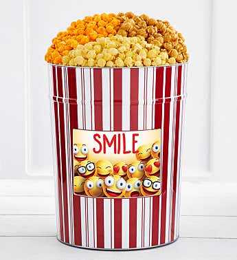 Tins With Pop® 4 Gallon Smile