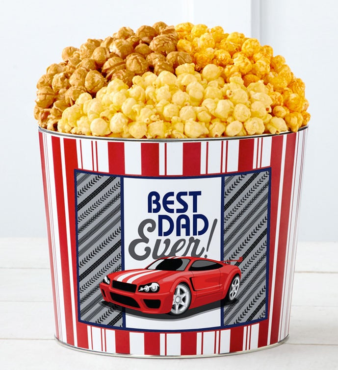 Tins With Pop® Best Dad Ever Car Racing