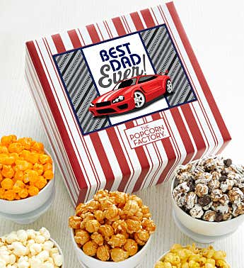 Packed With Pop™ Best Dad Ever Car Racing