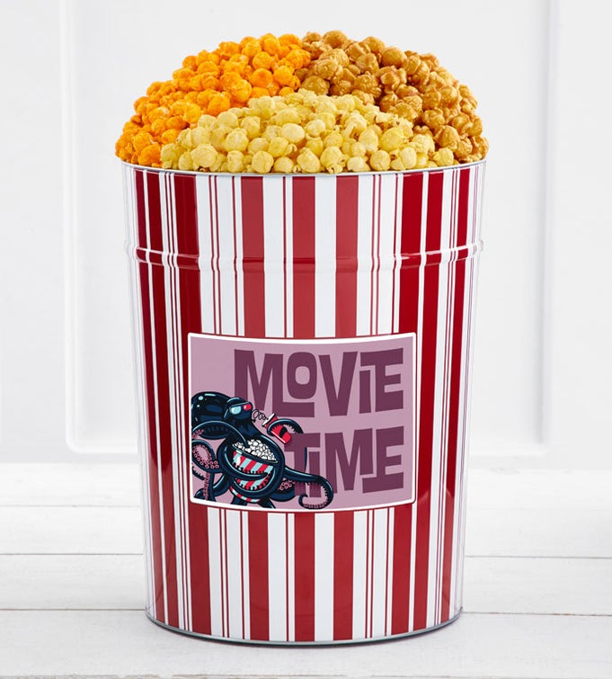 Tins With Pop® 4 Gallon Movie Time