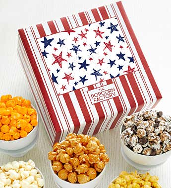 Packed With Pop™ Red & Blue Stars