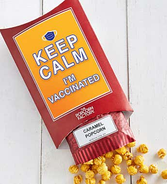 Cards With Pop® Keep Calm I'm Vaccinated