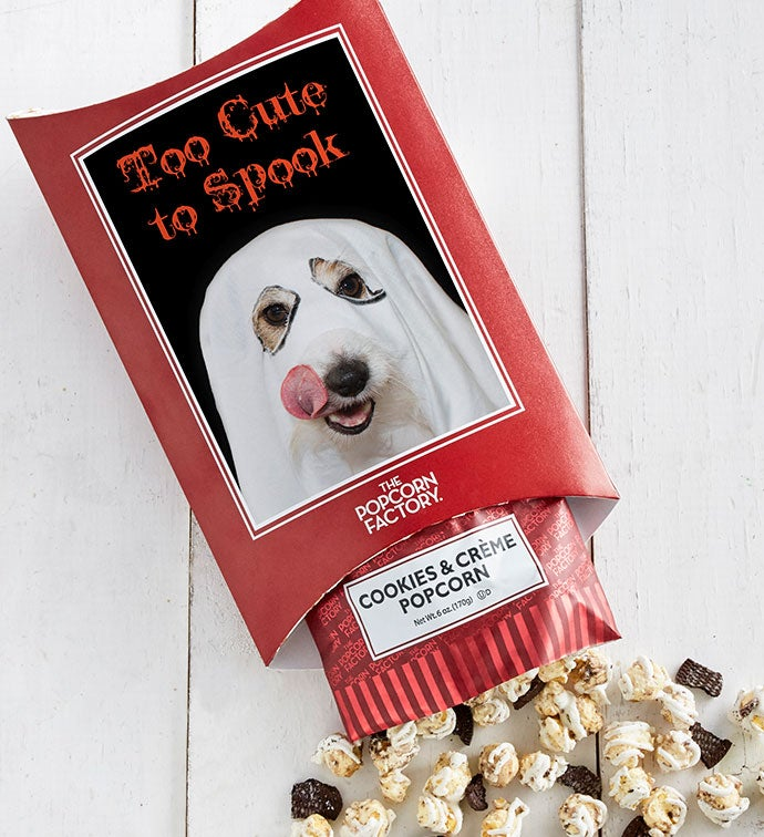 Cards With Pop™ Too Cute To Spook - Dog Ghost - Caramel