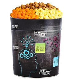 Up All Night Popcorn Tins