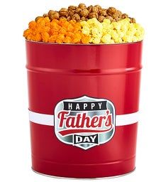 Fathers Day Popcorn Tins