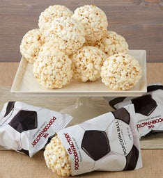 Popcorn Ball Baseballs and Soccer Balls
