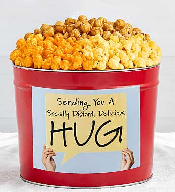 Tins With Pop® Socially Distant Hug Sign
