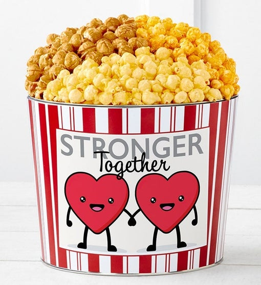 Tins With Pop™ Hearts Stronger Together