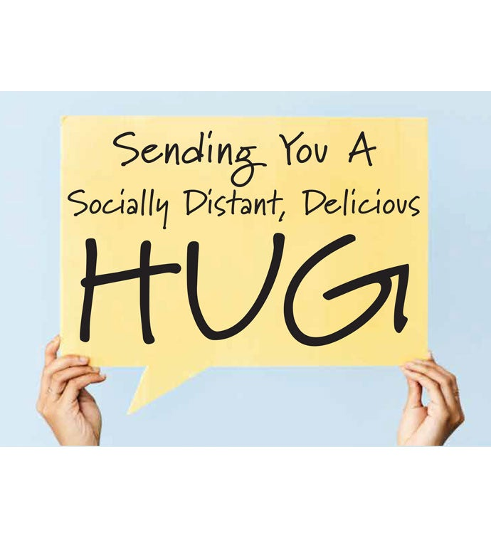 Tins With Pop™ Socially Distant Hug Sign