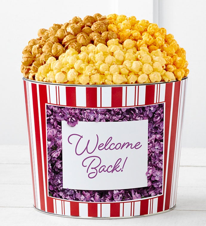 Tins With Pop® Welcome Back Flowers