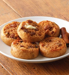 Cinnamon Raisin Mini-Muffins
